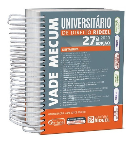 Vade Mecum Universitário De Direito Rideel - Última Edição