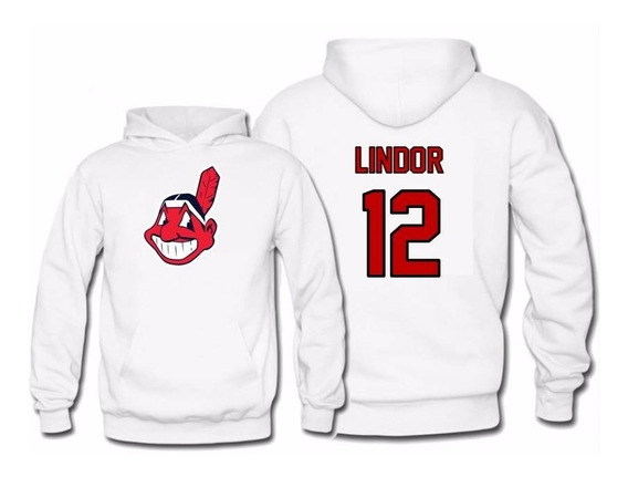 Sudadera Francisco Lindor Jersey Cleveland Indians Mlb