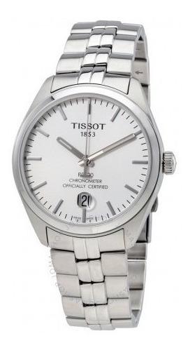 Relógio Tissot Masculino Pr100 Automático Cronômetro Prata