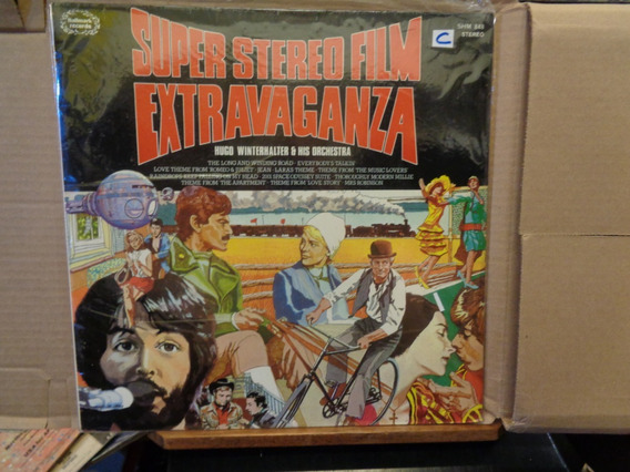 Extravaganza Super Stereo Film Hugo Winterhalter Disco Lp H