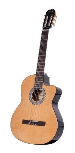Guitarra Electrocriolla Parquer Master Ecualizador Con Corte