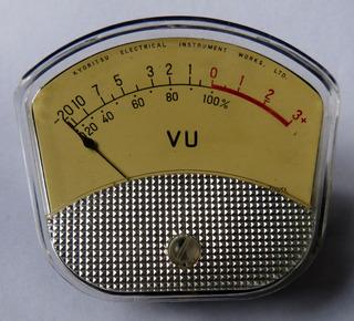 Vumetro Vintage Kyoritsu Modelo H-35 Unico 0 Km A