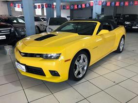 Chevrolet Camaro 6.2 Ss Conversível 2015 Amarelo - Dasauto