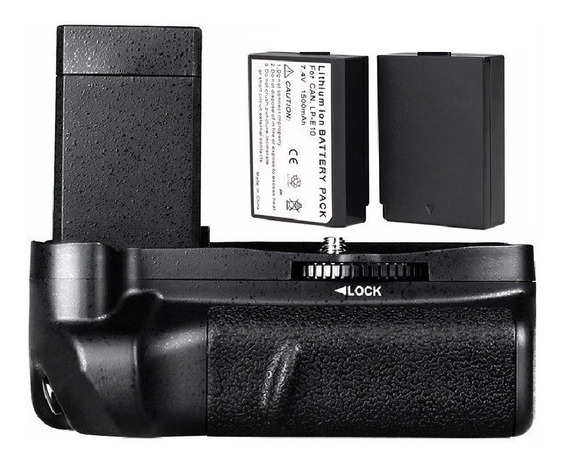 Grip Canon Eos 1100d 1200d 1300 T3/t5/t6 X50 + 2 Baterias!