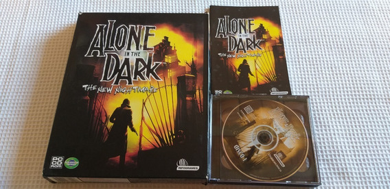 Alone In The Dark 4 The New Nightmare Pc Game Cdrom Triplo
