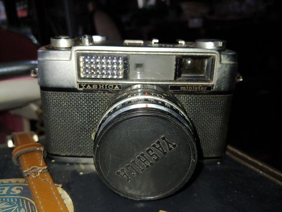 Antiga Camera Yashica Minister 2 Na Caixa