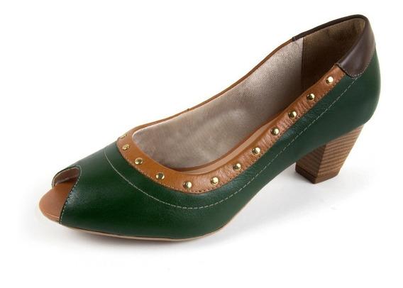 Sapato Salto Médio Scarpins Feminino Varias Cores E Modelos