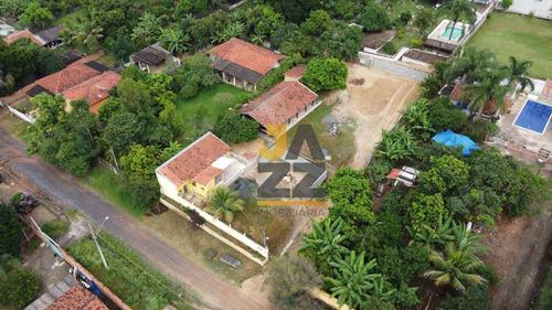 Linda Chácara Com 2 Casas À Venda, 1250 M² Por R$ 370.000 - Chácaras Cruzeiro Do Sul - Santa Bárbara D'oeste/sp - Ch0659