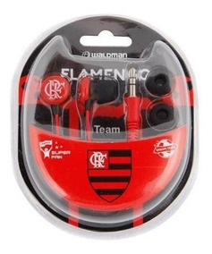 Fone De Ouvido Flamengo Sf-10