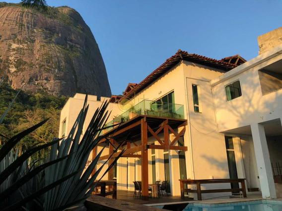 Casa Em Condomínio-à Venda-joá-rio De Janeiro - Ebcn40158