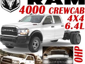 Ram 4000 Crewcab V8 Hemi 6.4l 410hp Mt 5vel Chasi 3.5ton Arh