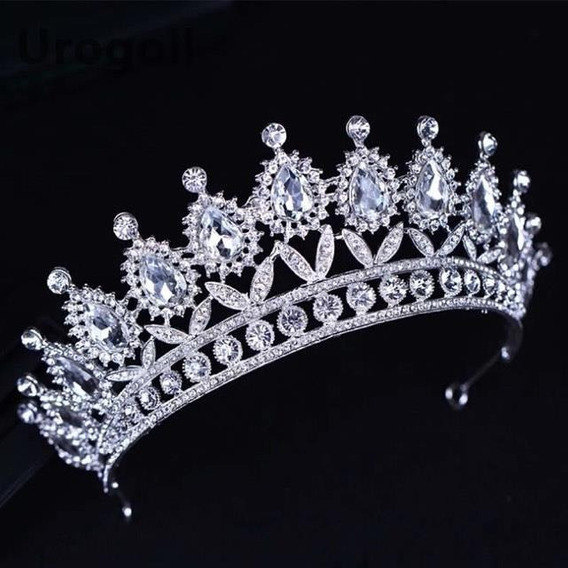 Hermosa Corona Grande Princesa Reina Coronación