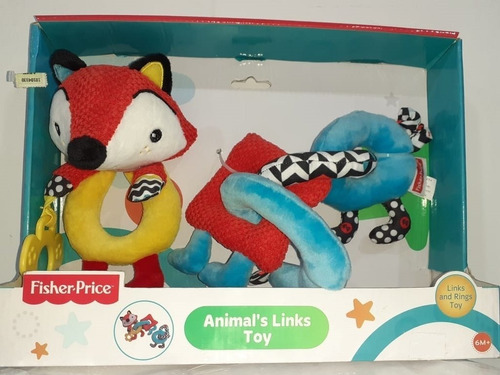 Sonajero Fisher Prince Animals Links Toy - King Baby