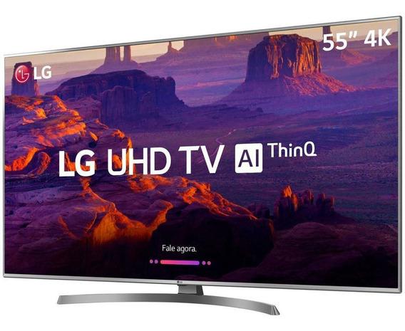 Smart Tv Led 55 Ultra Hd 4k LG 55um 4 Hdmi 2 Usb Thinq Al