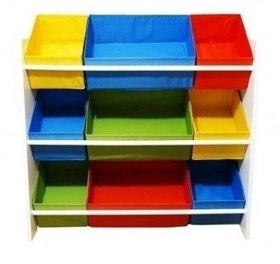 Estante Organizadora Para Brinquedos Caixas Prateleira Color