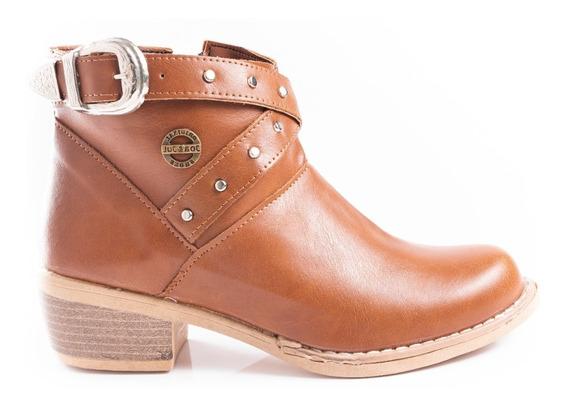 Zapatos Mujer Botinetas Botas Botín Texanas Cuero Ecológico Moda Primavera Verano