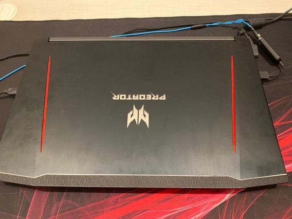 Notebook 2018 Gamer Acer Predator Helios 300 G3-572-75l9