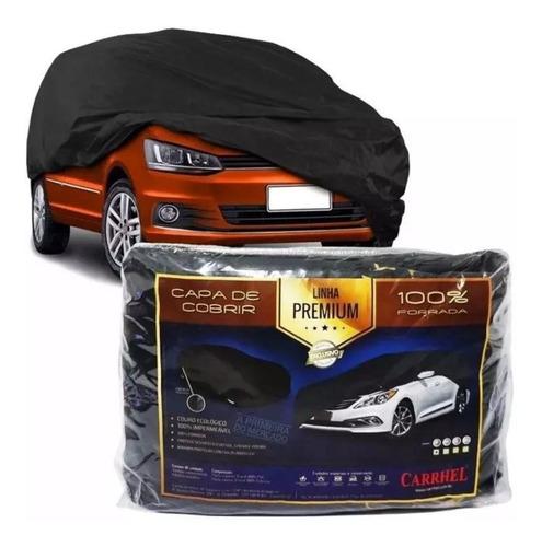Imagen 1 de 6 de Funda Cubre Auto Premium De Eco Cuero Con Con Forro Interior