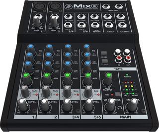 Mackie Mix8 Consola Mezcladora Compacta 8 Canales *yulmar*