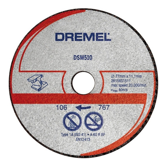 Disco De Corte Dremel Para Metal Saw Max