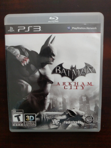 Batman Arkham City - Ps3