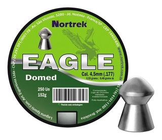 Chumbinho Nortrek Eagle 4,5mm C/250 Un Superior Ao Snyper