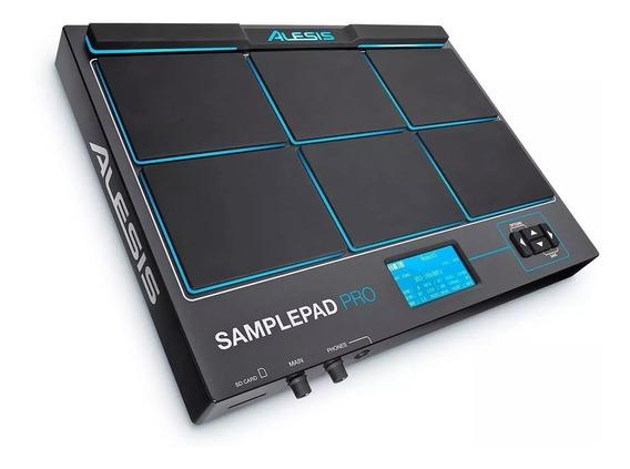 Percussao Eletronica Sample Pad Pro 8 Alesis Saida Usb