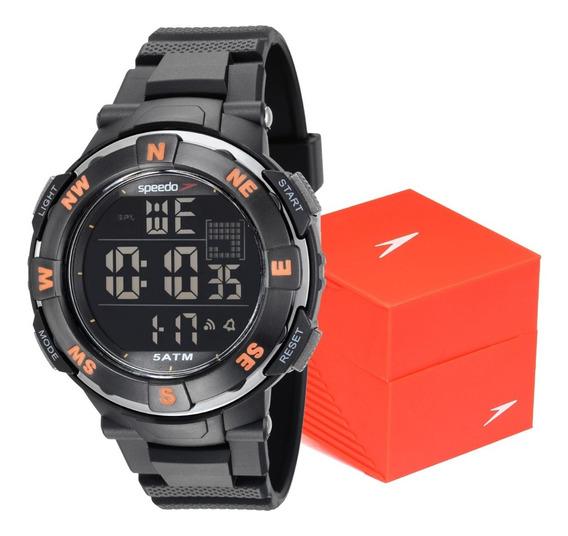 Relógio Masculino Esportivo Digital Militar Speedo Prova D´água Original Para Natação Esporte Passeio 81165g0evnp1 C/ Nf