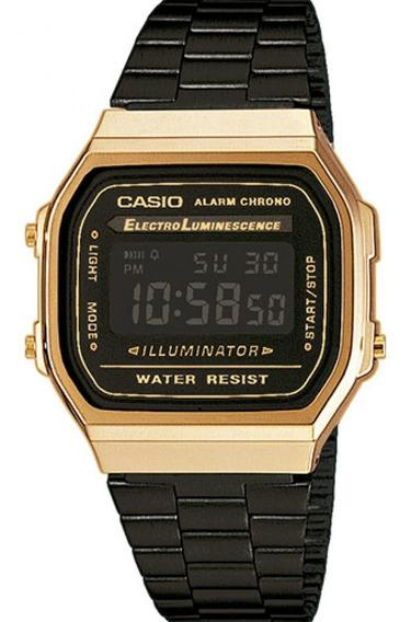 Relógio Casio Vintage Digital Fashion A168wegb1bdf Unissex