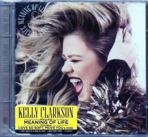 Cd Kelly Clarkson - Meaning Of Life (lacrado)