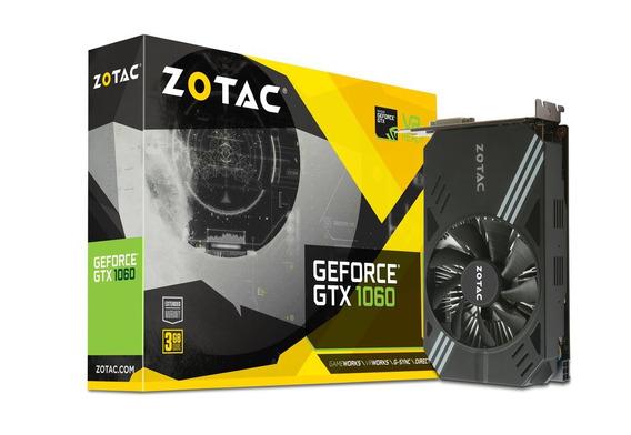 Tarjeta 3gb Zotac Gtx Genforce 1060 Ddr5 150$ Usada