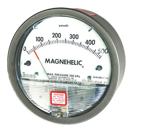 Manómetro Diferencial Magnehelic 0/500pa Dwyer