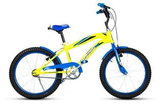 Bicicleta Cross Bmx Rodado 20 Nene, Varón Topmega