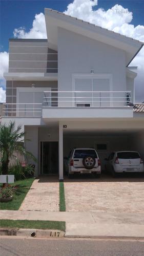 Excelente Sobrado Residencial À Venda, Condomínio Ibiti Royal Park, Sorocaba. - Ca0691