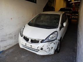 Honda Fit Automatico Dado De Baja Con Alta De Motor Chocado