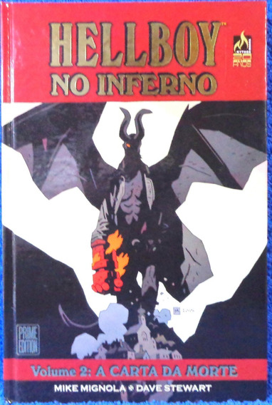 Hellboy No Inferno Vol.2 A Carta Da Morte Livro Original