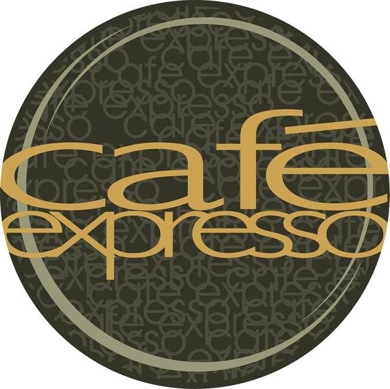Adesivos Kit Com 5 Cafe Expresso