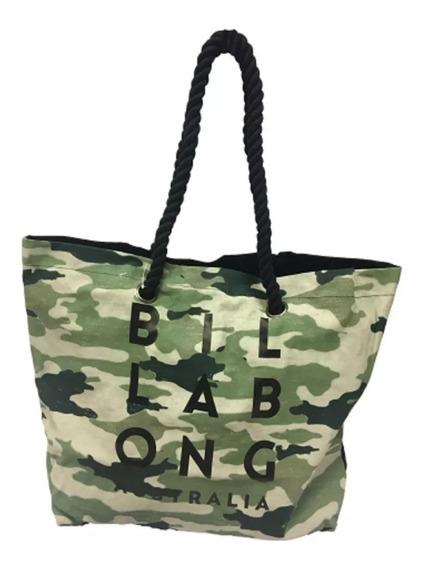 Bolso Billabong Trop Camo Beach Bag Mujer Cartera