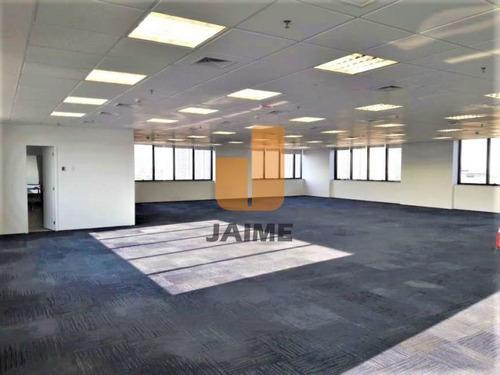 Sala Com Vão Livre, Banheiro E 16 Vagas Em Edifício Na Barra Funda - Ja7054