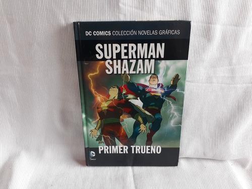 Imagen 1 de 4 de Superman Shazam Primer Trueno Dc Comics Salvat