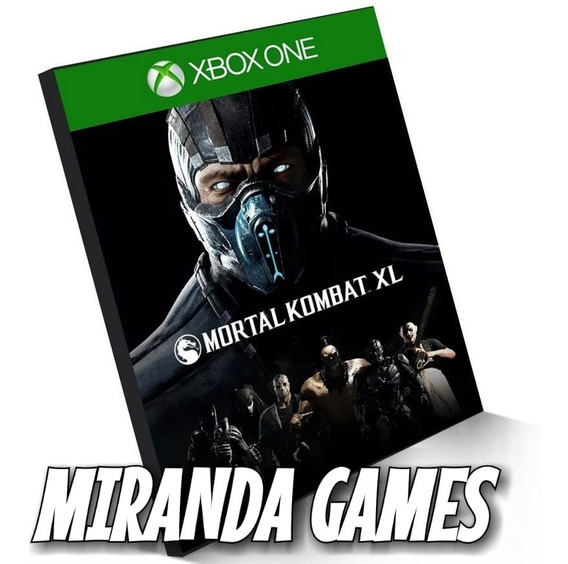 Mortal Kombat Xl Xbox One Midia Digital Combate X