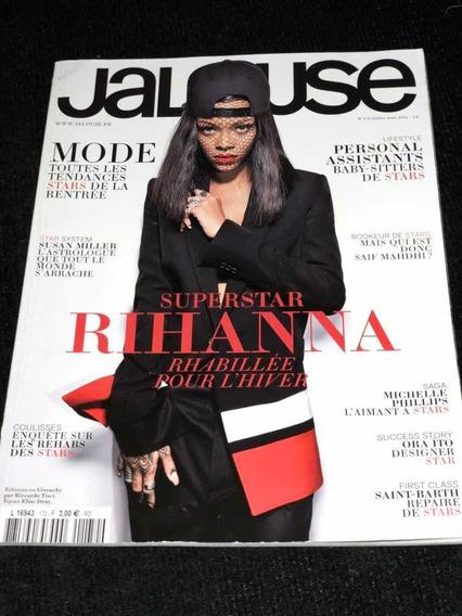 Revista Rihanna Jalouse Francesa Super Rara Importada