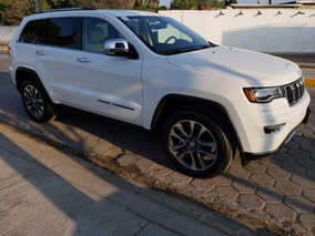 Jeep Grand Cherokee Limited Lujo 2018 Blanco
