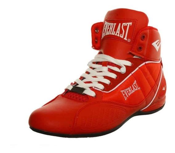 Bota Everlast Casual Original 2016 Caballero Rojo