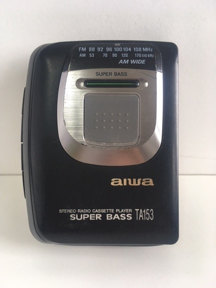 Walkman Aiwa Ta 153 Funcionando
