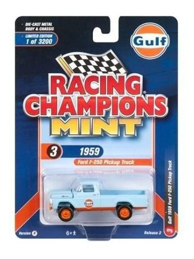 F-250 Pickup 1959 Gulf - 2018 R2 Set A Racing Champions 1:64