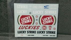 Decal 1/18 Bar Honda 005 Lucky Strike Villeneuve Button Sato