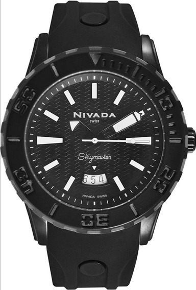 Reloj Nivada Swiss Skymaster Para Hombre