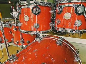 Dw Collectors Super Tangerine Glass (ñ Pearl,tama,yamaha)