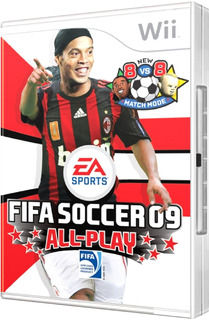 Juego Original Fifa Soccer 09 All-play, Nintendo Wii